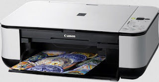 has a luxurious appearance shape with a silver colored side and scanner plus a top being  Canon Pixma MP250 Driver Printer Download