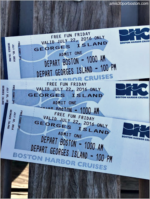 Boston Harbor Islands: Tickets