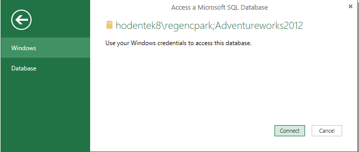 HodentekMSSS: Authoring a report with Power BI using SQL Server 2012