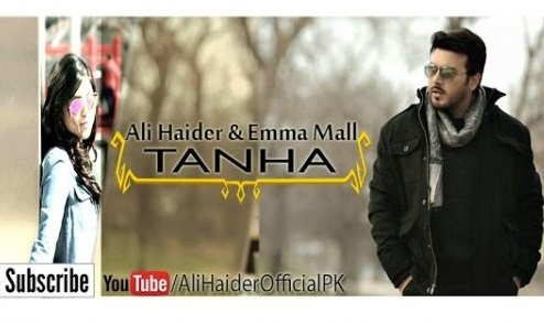 New Pakistani Songs 2016 TANHA by Ali Haider & Emma Mall Latest Music Video
