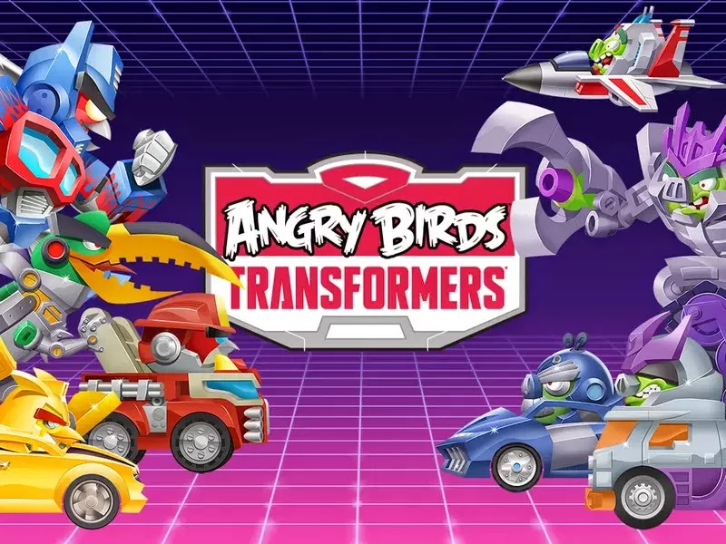 angry bird transformers latest game