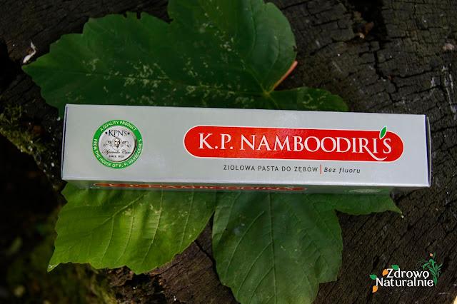 Polind-Multivity - Naturalna, wegańska ziołowa pasta do zębów K.P. NAMBOODIRIS bez fluoru