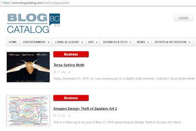 BlogCatalog Content Scraper of JaguarJulie Ann Brady Copyrighted Content