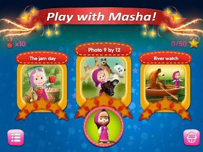 Game Android Terbaru Masha dan Bear