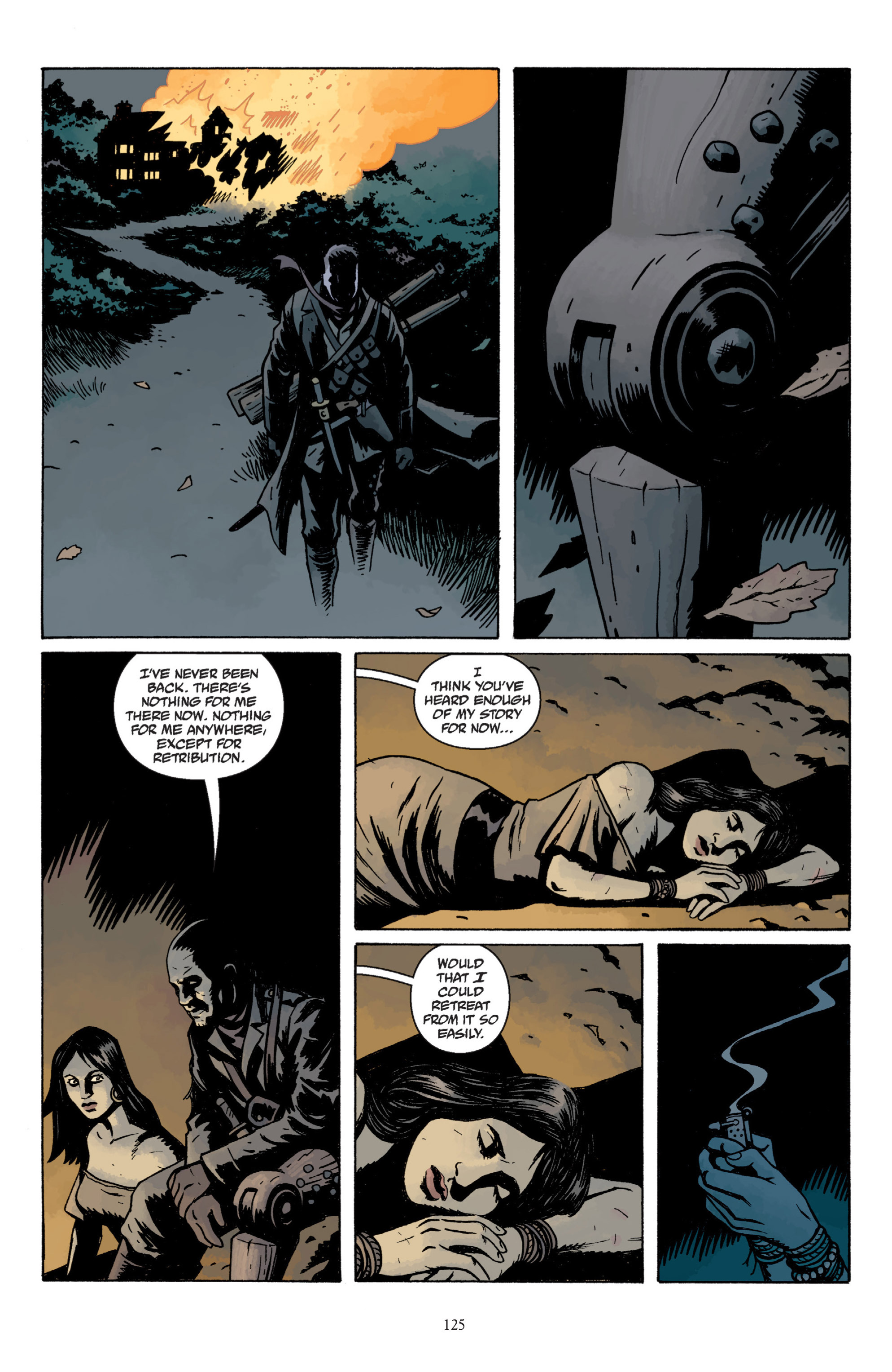 Read online Baltimore: The Plague Ships comic -  Issue # TPB - 124