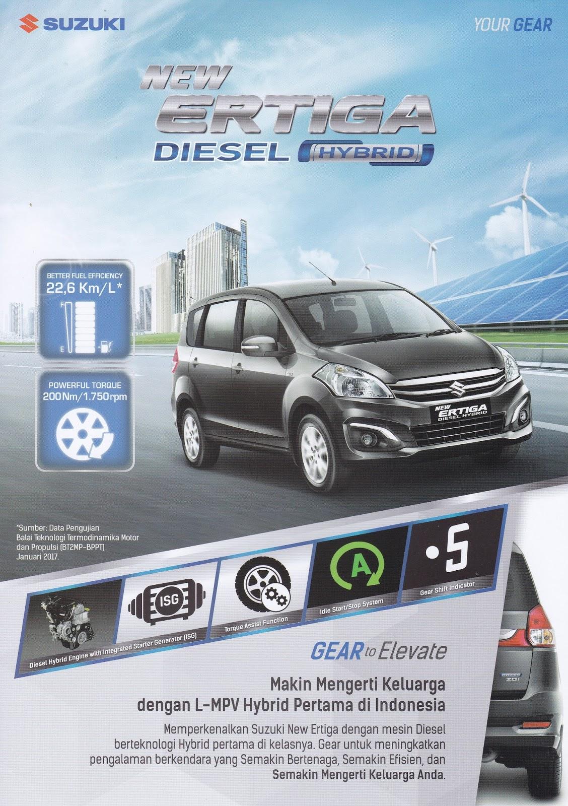 brosur ertiga diesel hybrid