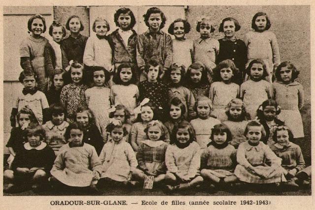 La classe des filles d'Oradour