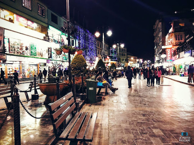 places to visit sikkim mg road photos at night