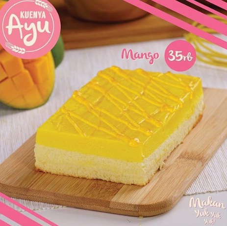 harga dan varian rasa kuenya ayu mango