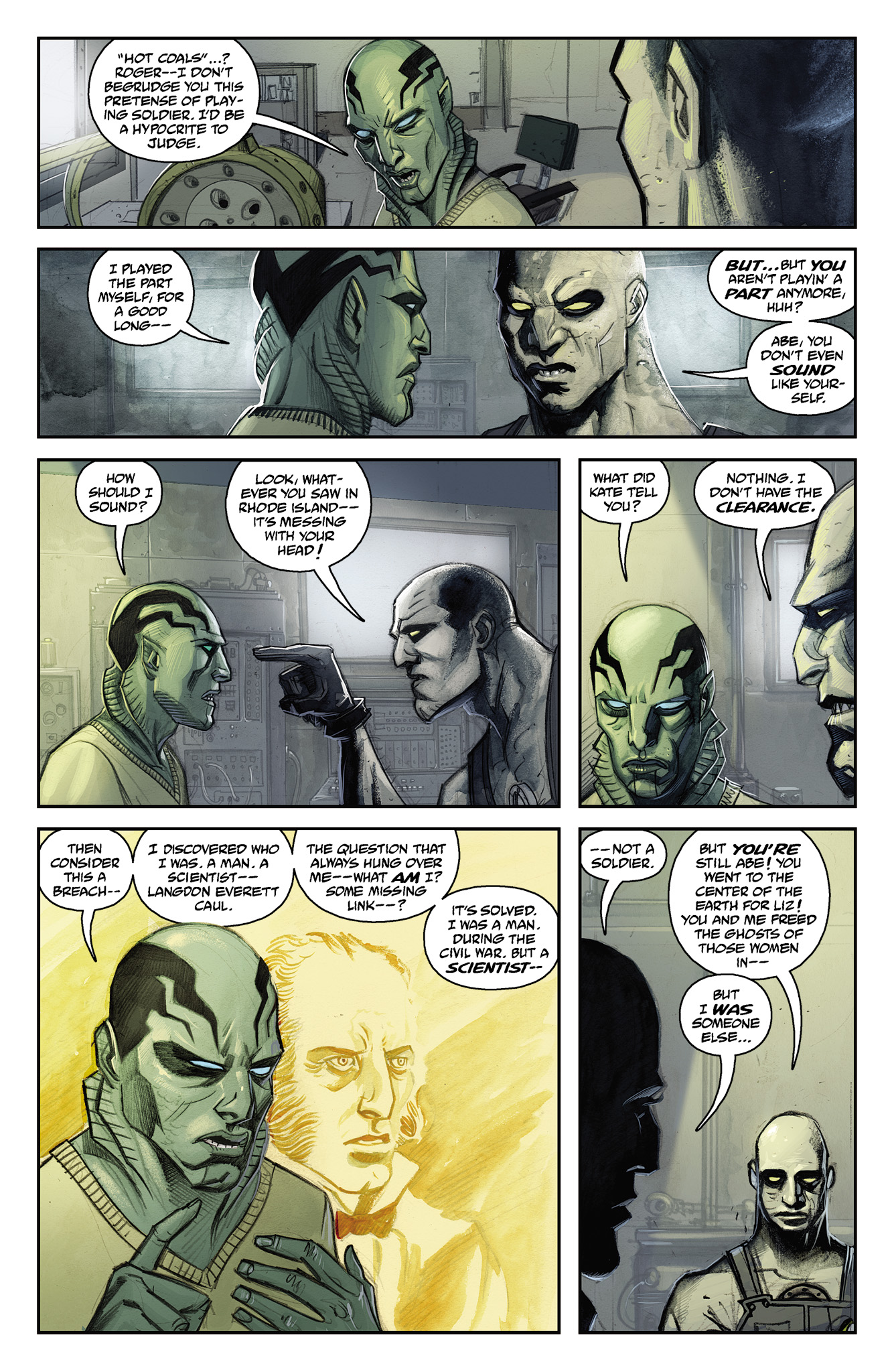 Read online Abe Sapien comic -  Issue #15 - 8