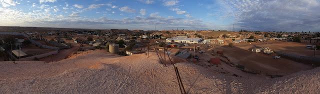 panoramica coober pedy - australia