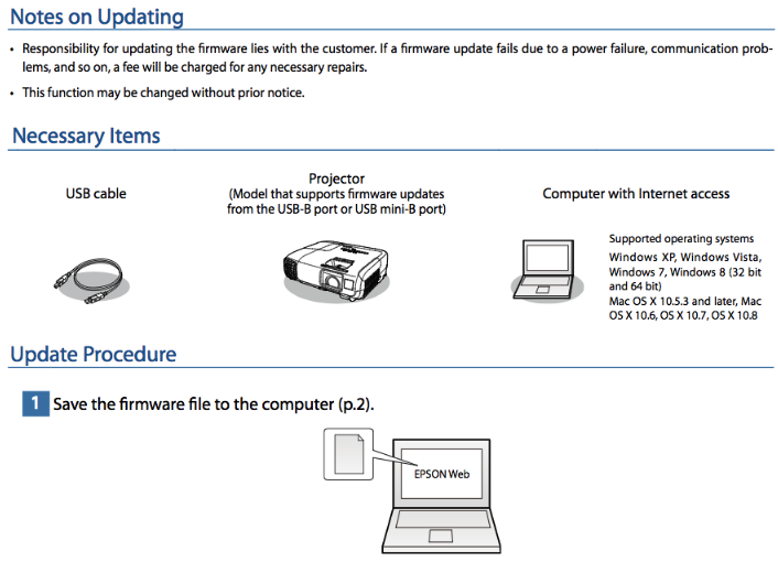 How to Install Instruction Epson Pro L25000U Firmware Update