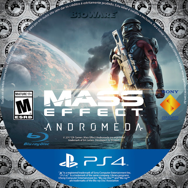 Label Mass Effect Andromeda PS4 [Exclusiva]