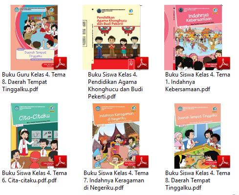 Buku Kurikulum 2013 Sd Mi Kelas 4 Edisi Revisi 2017 Untuk Guru Dan Siswa Lengkap Dadang Jsn