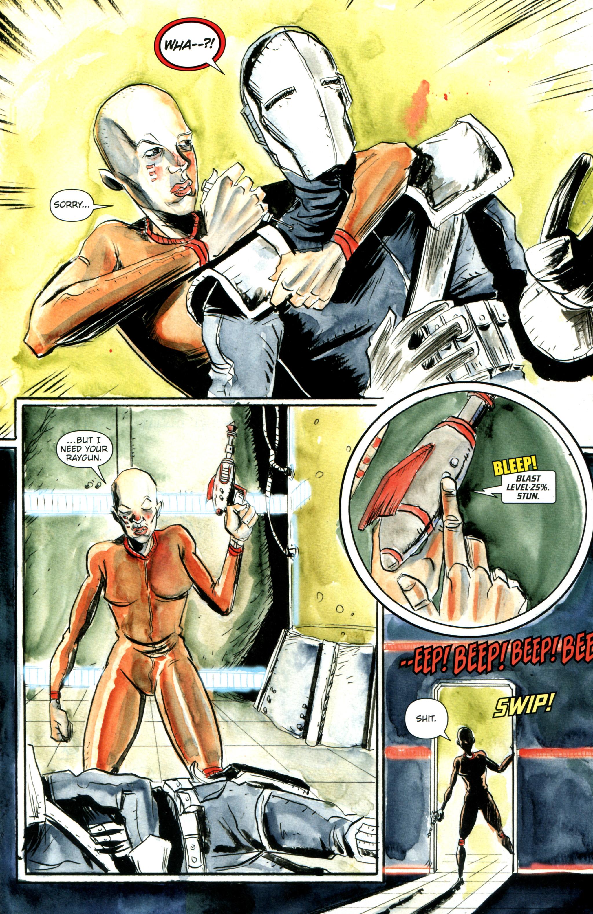Read online Trillium comic -  Issue #3 - 9