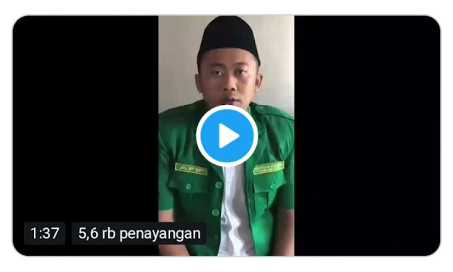 Viral, Ketua GP Ansor Surabaya Minta Polisi Tembak di Tempat Pembawa Bendera HTI