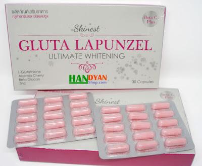 Jual Suplemen Pemutih Tubuh Gluta Lapunzel