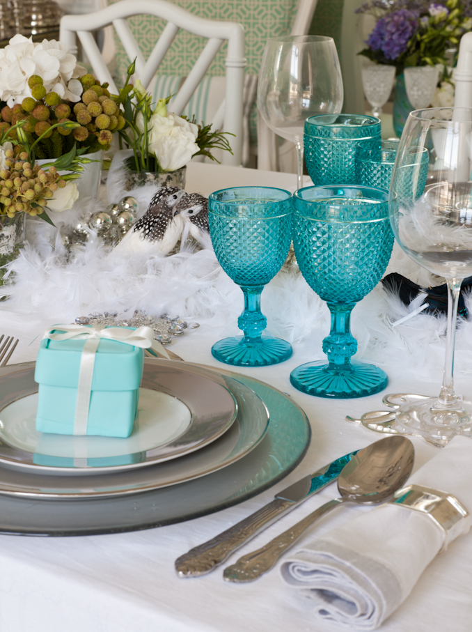 Home Styling Ana Antunes My Tiffany S Christmas Table