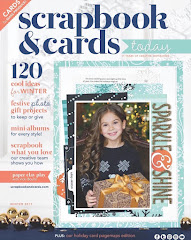 My Published Work - Scrapbook And Cards Today - Winter Issue 2017