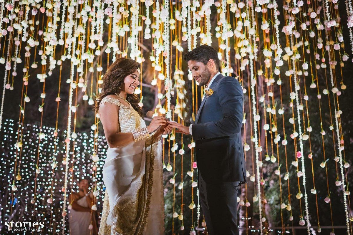 Naga Chaitanya and Samantha Engagement