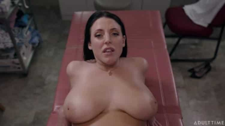Angela White in Full Body Physical Exam - Adult Time