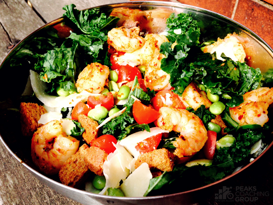 Kale Salad - Peaks Coaching Group