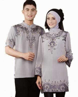 Model Baju Muslim Resmi Couple Keluarga Terbaru