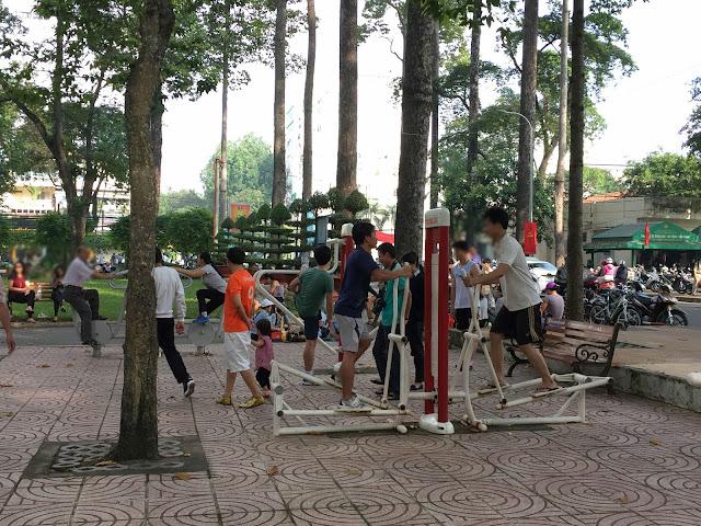hcmc-vietnam-sport-park ベトナムの公園とアスレチック2