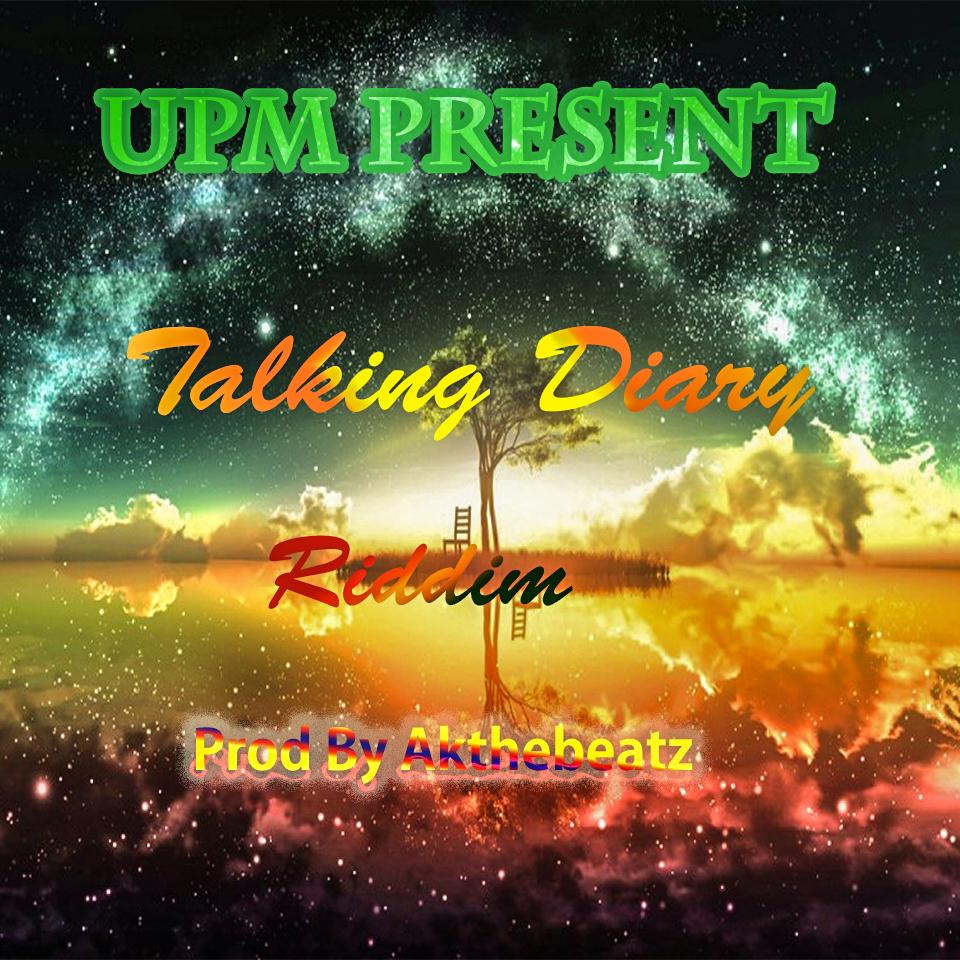 Instrumental - Talking Diary Riddim (AkTheBeatz)