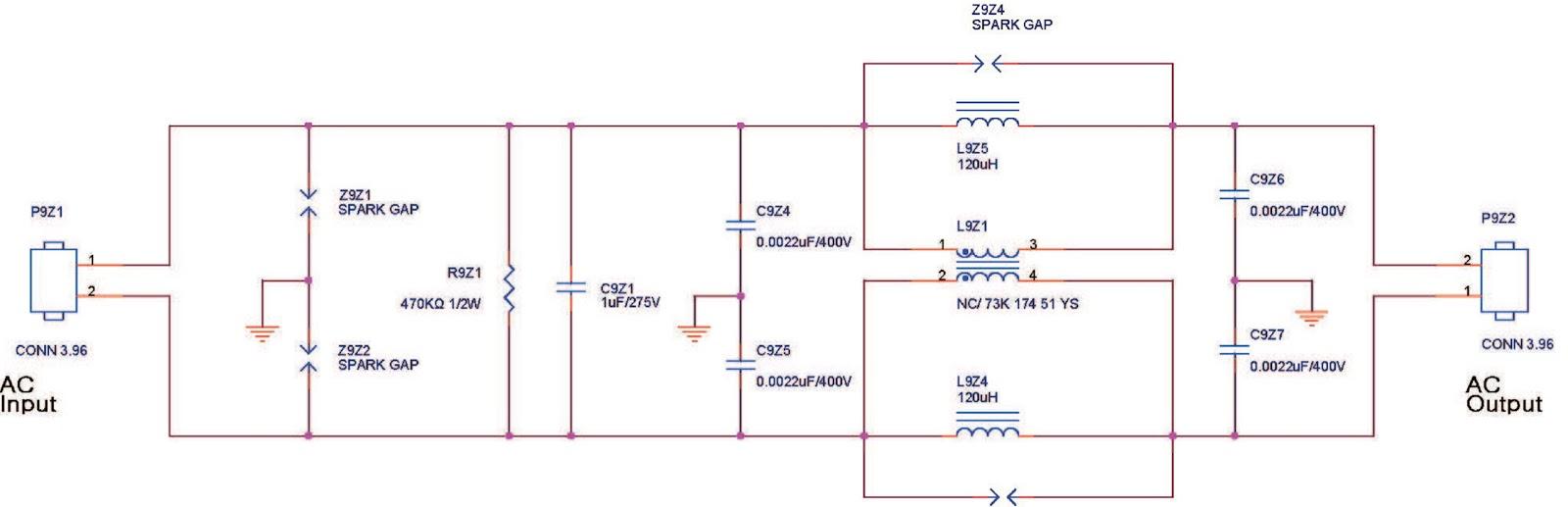 Power Ofpc Power Filter Schematic Circuit Diagram Philips