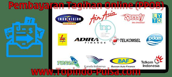 Topindo-Pulsa.Com Agen Pulsa Payment Pembayaran Tagihan Online PPOB Termurah