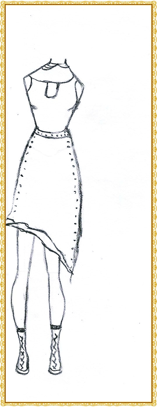 Muitos Caro Modelos De Vestidos Para Desenhar Faktanusantara Com