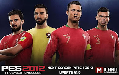 PES 2012 PES Next Season Patch 2019 + Update 1.0 Season 2018/2019