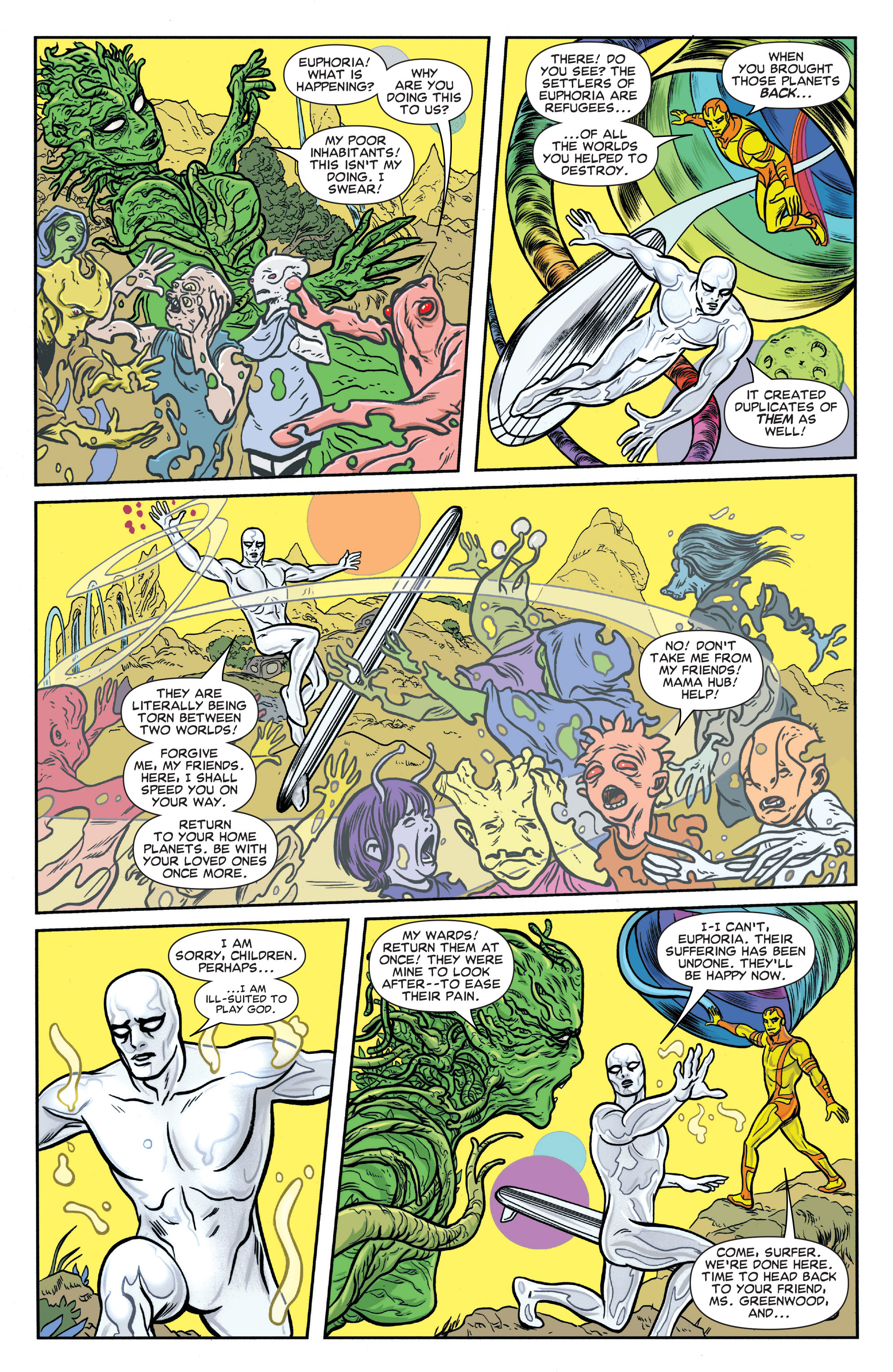 Read online Silver Surfer (2014) comic -  Issue #15 - 5