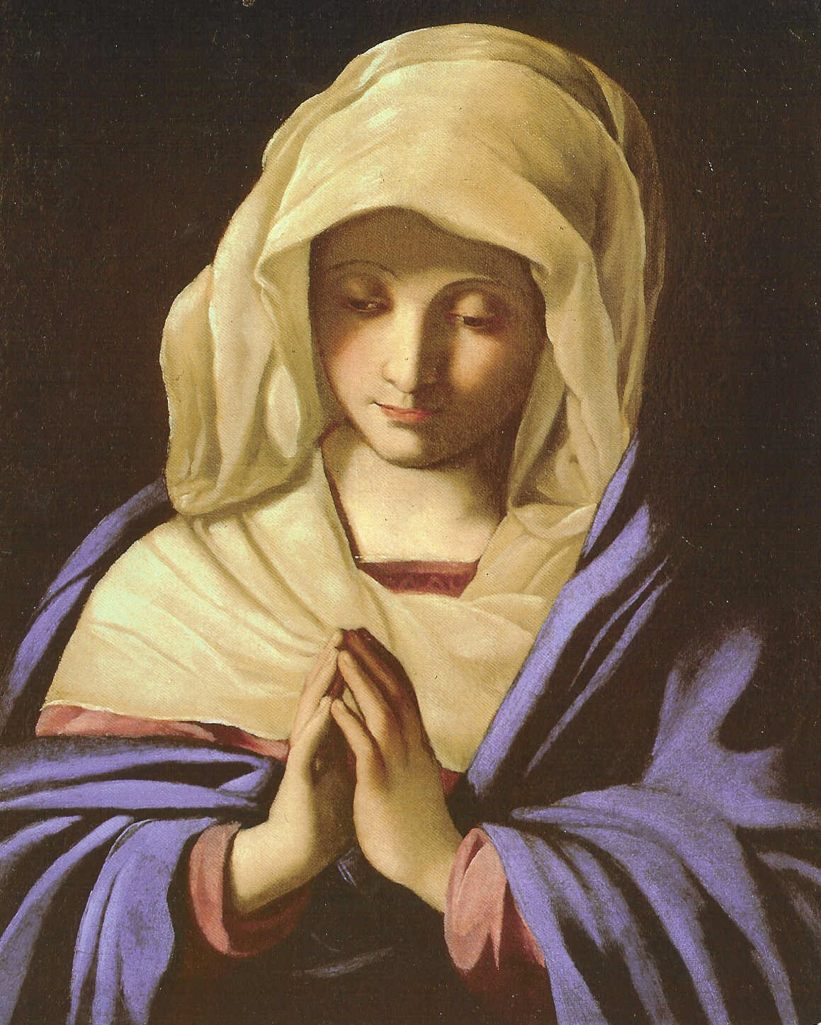 Light Up Virgin Mary Picture