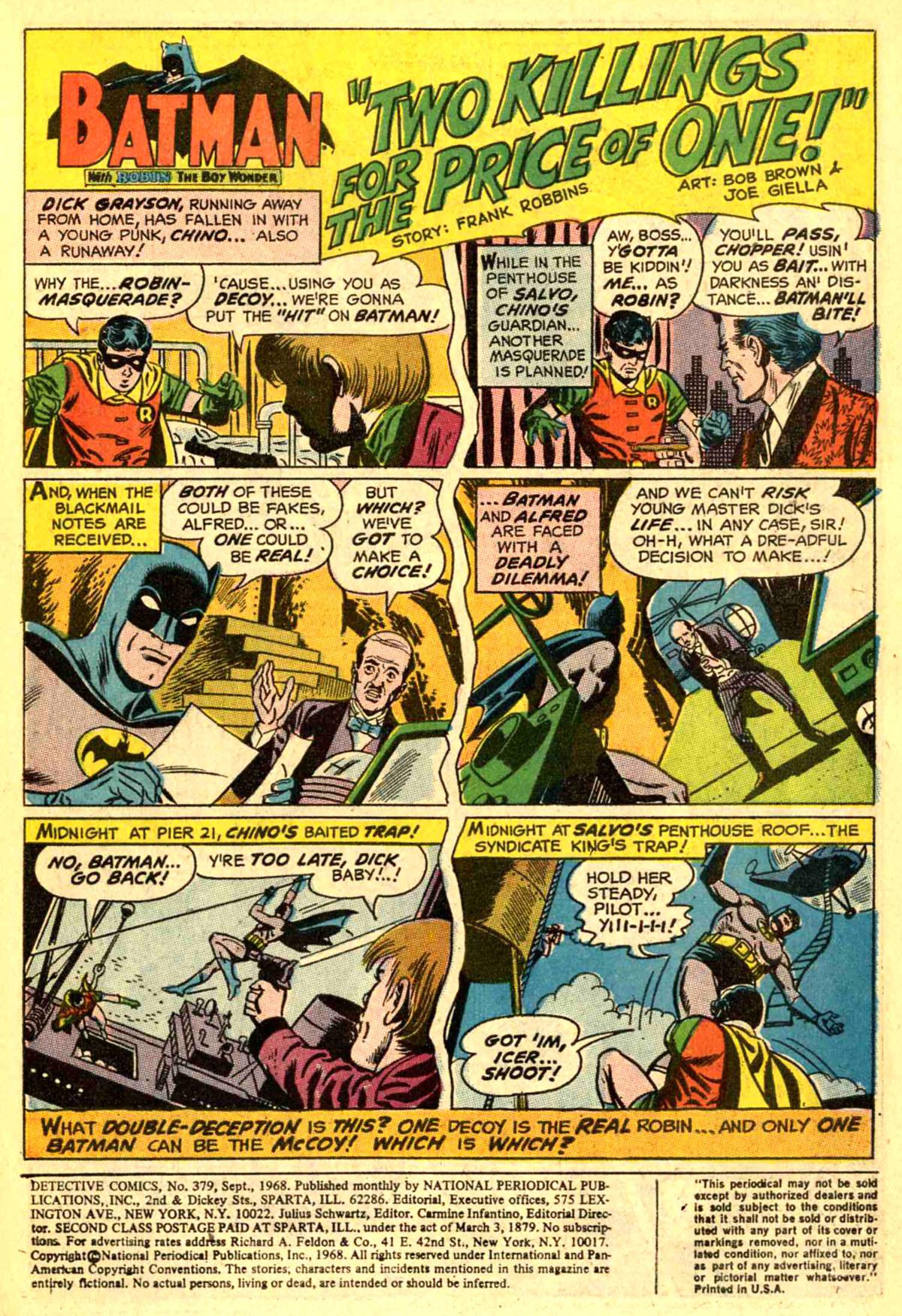 Detective Comics (1937) 379 Page 2