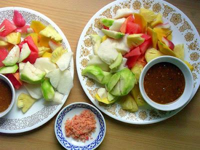 Resep Makanan Indonesia Rujak tradisional