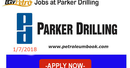 Parker Drilling Company hiring for various positions Apply online Now!