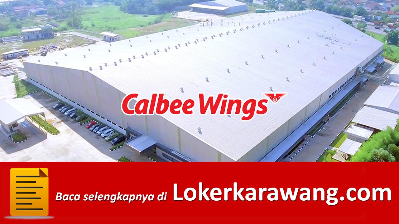 Lowongan Kerja PT. Calbee Wings Food Karawang 2019