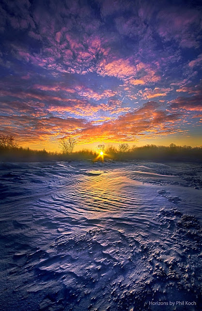 Winter Forest Sunrise ~ Marvelous Nature