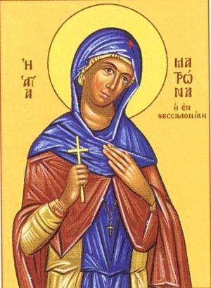 """Результат пошуку зображень за запитом """"Житіє святої матері нашої Матрони Солунської"""""""