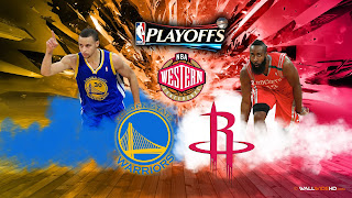 Golden State Warriors - Houston Rockets NBA Playoffs Western Conference Finals