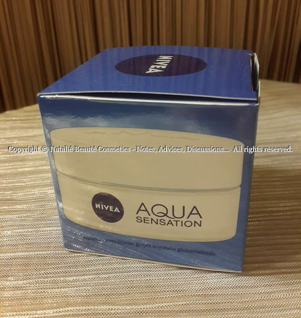 AQUA SENSATION - NIVEA PERSONAL PRODUCT REVIEW AND PHOTOS NATALIE BEAUTE