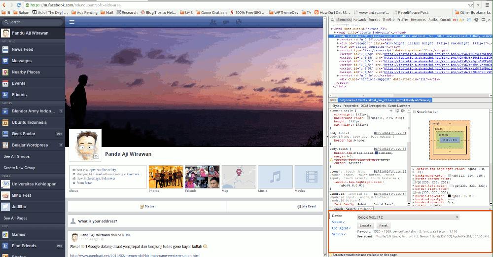 simulasi browser