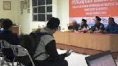 KPU karawang tetapkan DCS Priode 2019-2024