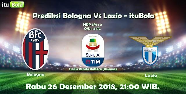 Prediksi Bologna Vs Lazio - ituBola