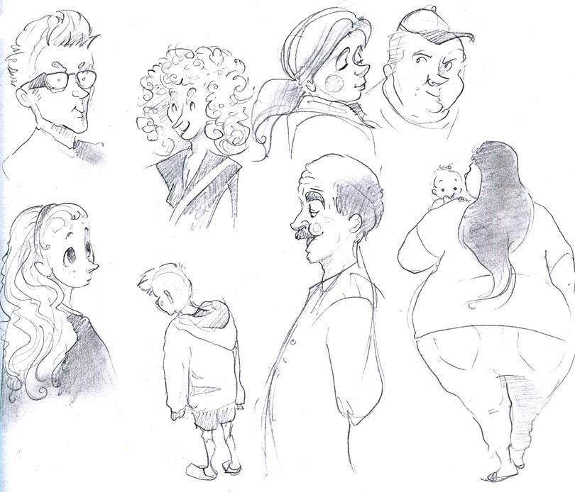 Thierolfolis: 53: Character Design Shenanigans