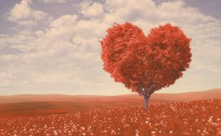 pohon berbentuk love