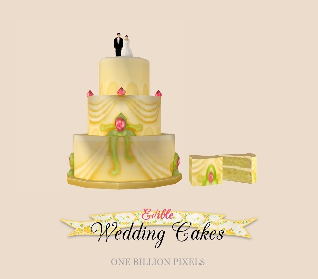 Edible Wedding Cakes + Bonus