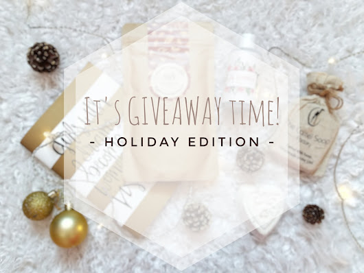 It's GIVEAWAY time | Holiday Edition